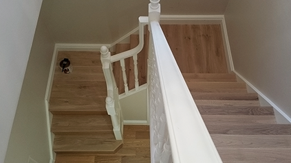 staircase renovation Surrey